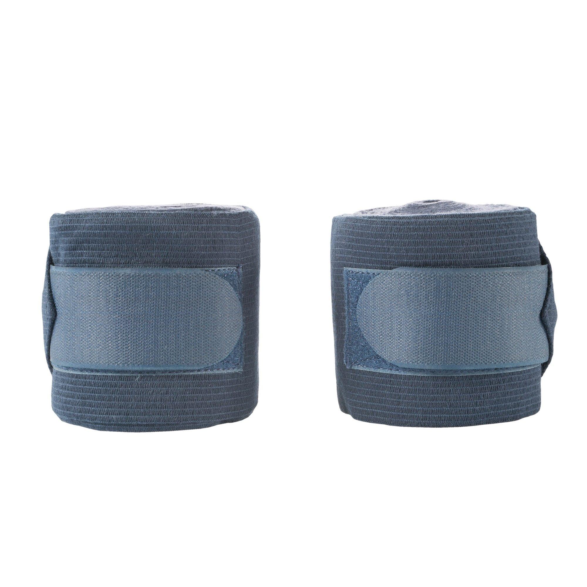 Horze Caesar Elastive Fleece Combi Polo Wrap Night (Dark Blue) Blue
