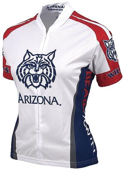 669cbacdb Amazon.com   NCAA Unversity of Arizona Women s Cycling Jersey ...