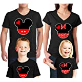 1f77164c12a1 Amazon.com: Natural Underwear Family Vacation Mickey Minnie Mouse T ...