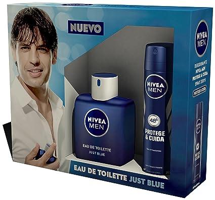 NIVEA MEN Estuche de regalo 2 productos en un pack para hombre con colonia masculina y desodorante en spray, caja de regalo con una fragancia ...