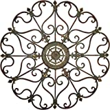 deco 79 50094 metal wall decor 29 - Large Metal Wall Decor
