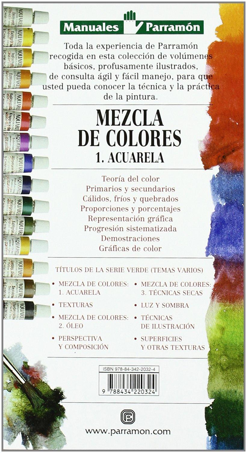Manuales Parramon - Mezcla de Colores - 1: Jose Maria Parramon:  9788434220324: Books - Amazon.ca