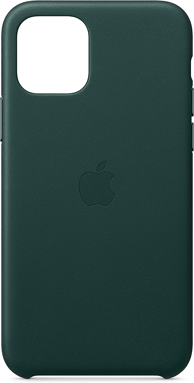 Apple Funda Leather Case (para el iPhone 11 Pro) - Verde Bosque