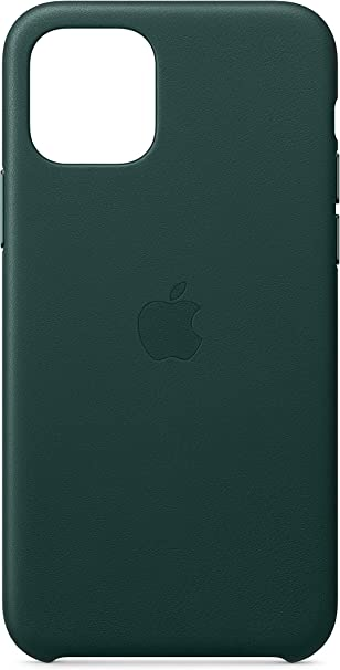 Image ofApple Funda Leather Case (para el iPhone 11 Pro) - Verde Bosque