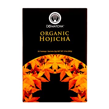 DoMatcha - Organic Hojicha, Authentic Japanese Low Caffeine Green Tea with Smooth Notes of Mesquite