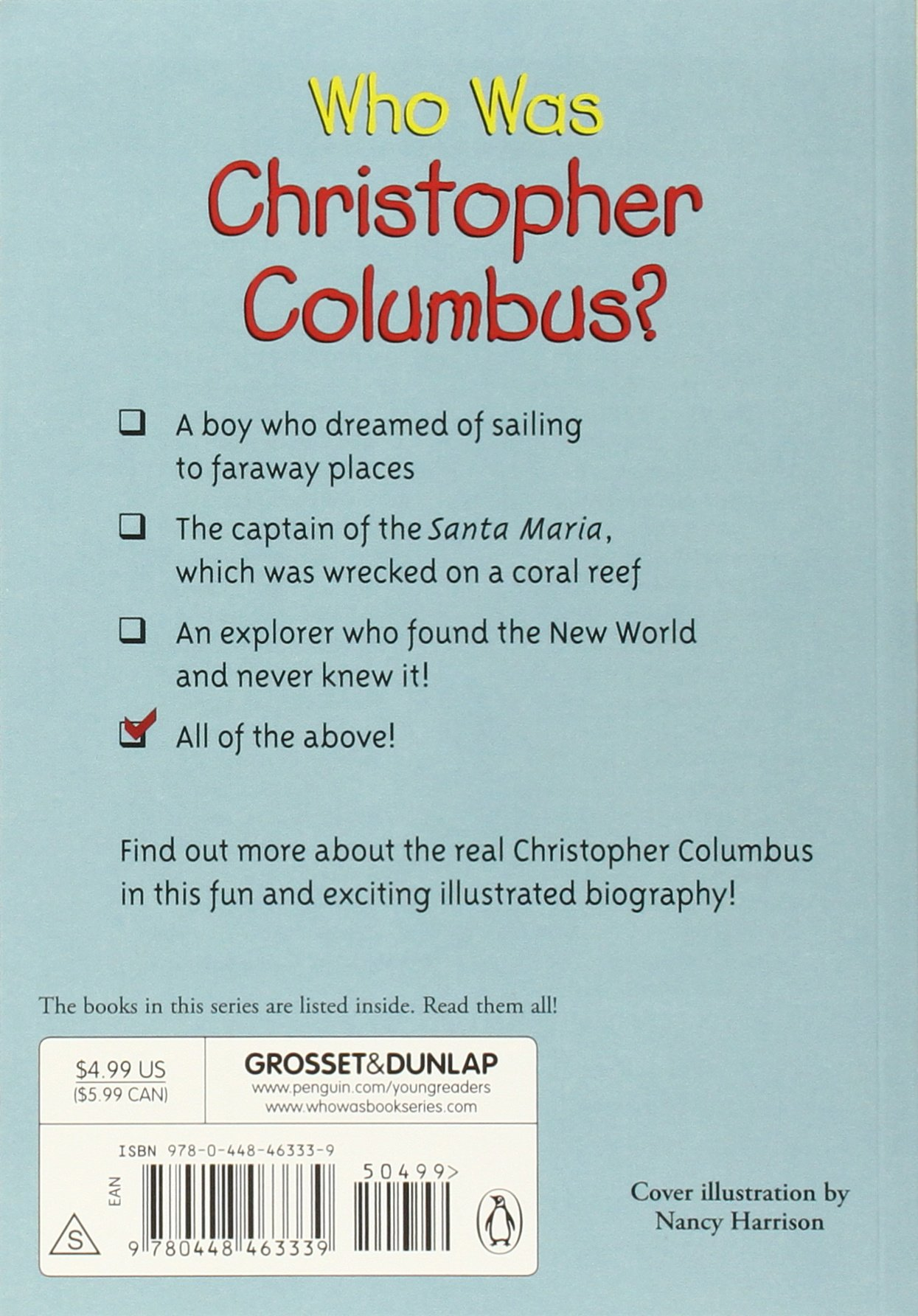 a descriptive summary on the life of christopher columbus In 1451 ad christopher columbus was born in the city of genoa in italy from his childhood, he was influenced by reading the travelogue of marco polo and other writings concerning sea voyage.
