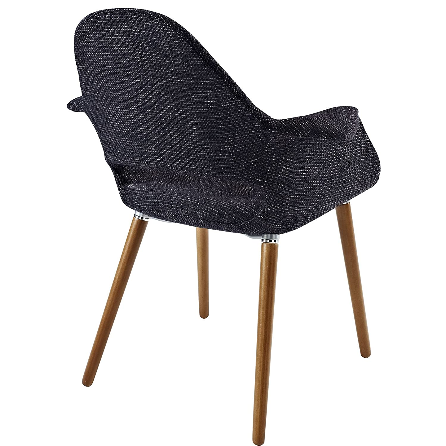 Black Modway Veer Accent Chair
