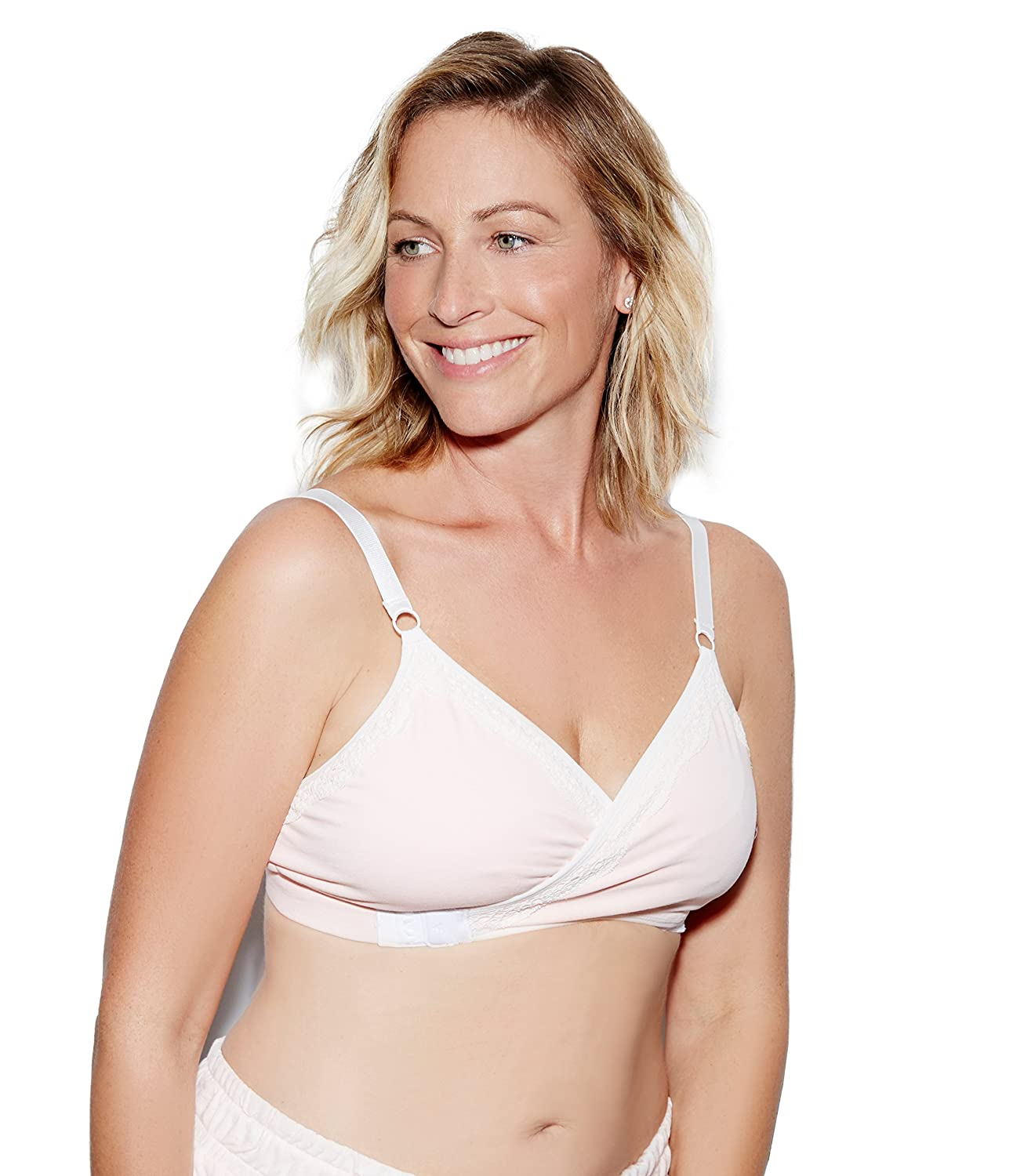 Blush The Dairy Fairy Arden All-in-One Nursing and Hands-Free Pumping Bra X-Large