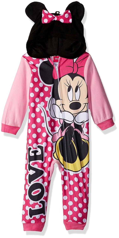 Disney Girls' Minnie Mouse Blanket Sleeper 21MW480GBSDZ