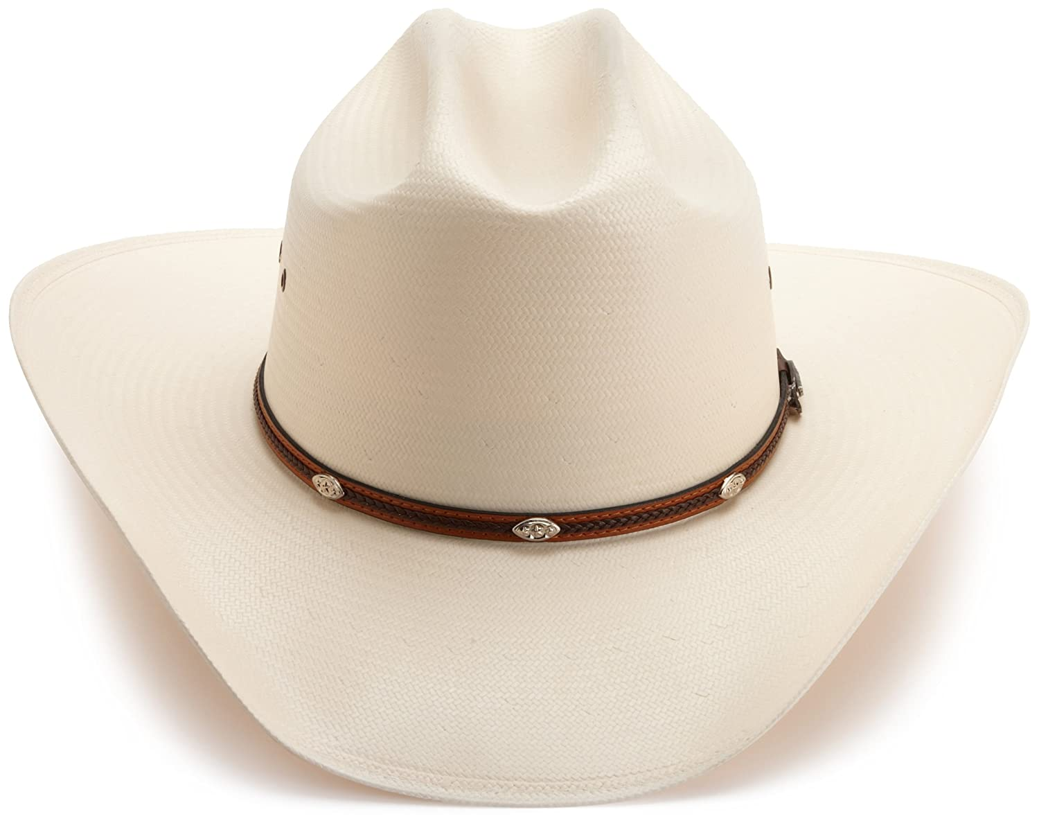 37d753a1430 Stetson Men s Alamo Hat at Amazon Men s Clothing store  Cowboy Hats