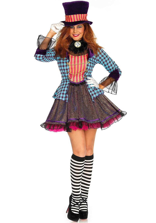 Leg Avenue 2PC. Ravishing Mad Hatter Women's Costume LO8564801101