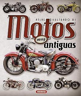 Motos muy antiguas (Atlas Ilustrado)