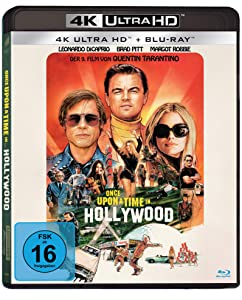 Once upon a time in... Hollywood(4K Ultra HD) (+ Blu-ray 2D) [Alemania] [Blu-ray]
