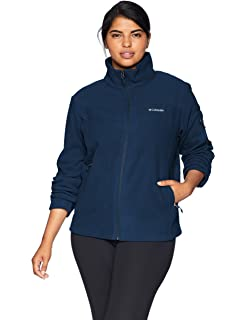 f387da9b3c2 Columbia Women s Plus Size Benton Springs Print Full Zip Jacket at ...