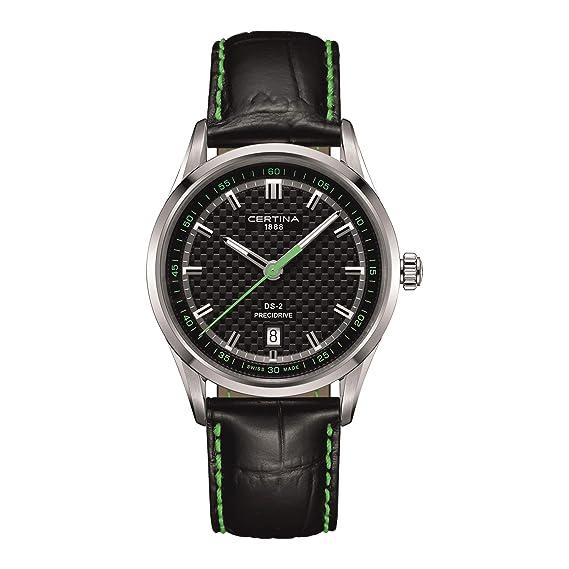 CERTINA DS-2 RELOJ DE HOMBRE CUARZO CORREA DE CUERO C024.410.16.051.02: Amazon.es: Relojes