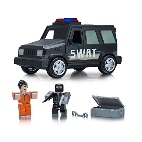 Amazoncom Roblox Jailbreak Swat Unit Feature Vehicle Toys Games