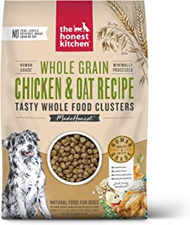 product image for The Honest Kitchen Whole Food Clusters Human Grade Dry Dog Food - Cage Free Chicken, Cage Free Turkey, Ranch Raised Beef