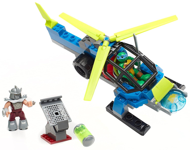 Tortugas Ninja - Helicóptero, 31 x 25 cm (Mega Bloks DMX11 ...