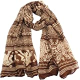 Atdoshop(TM) New Ladies Neck Stole Elephant Print Long Scarf Shawl Wrap Pashmina