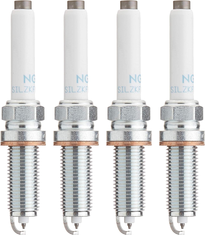NGK LASER IRIDIUM Iridium Spark Plugs SILZKFR8D7S 95875 Set of 4