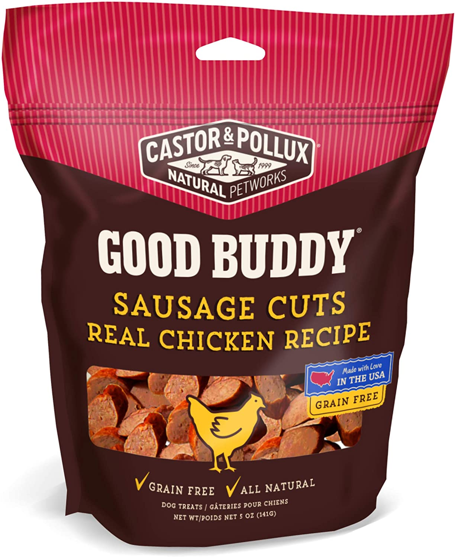 Buena Carne de Pollo Real Buddy Salchicha Receta, 5 oz