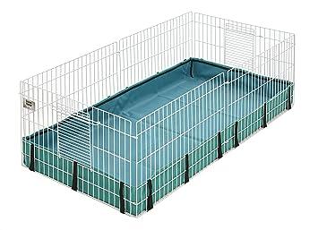 Amazon com : Guinea Habitat Guinea Pig Cage by MidWest, 47L