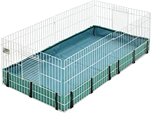 Guinea Habitat ™ Guinea Pig Cage by Midwest, 47L x 24W x 14H Inches