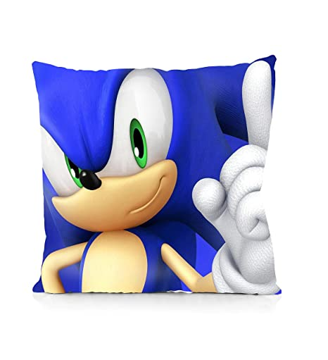 Amazon.com: Rechzng Li Sonic Boom Sonic - Funda de almohada ...