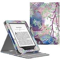 MoKo Kindle Paperwhite Case - Copertura di Vibrazione Verticale Custodia per Amazon Nuovo Kindle Paperwhite (Adatto Tutte le versioni 2012, 2013, 2015 e 2016), Lilla