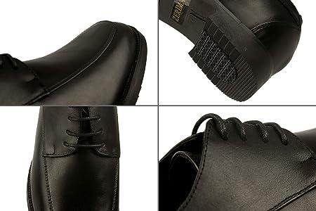 Zerimar Zapatos con Alzas Interiores para Hombres Aumento 7 cm   Zapatos de Hombre con Alzas Que Aumentan Su Altura   Zapatos Hombre Invierno