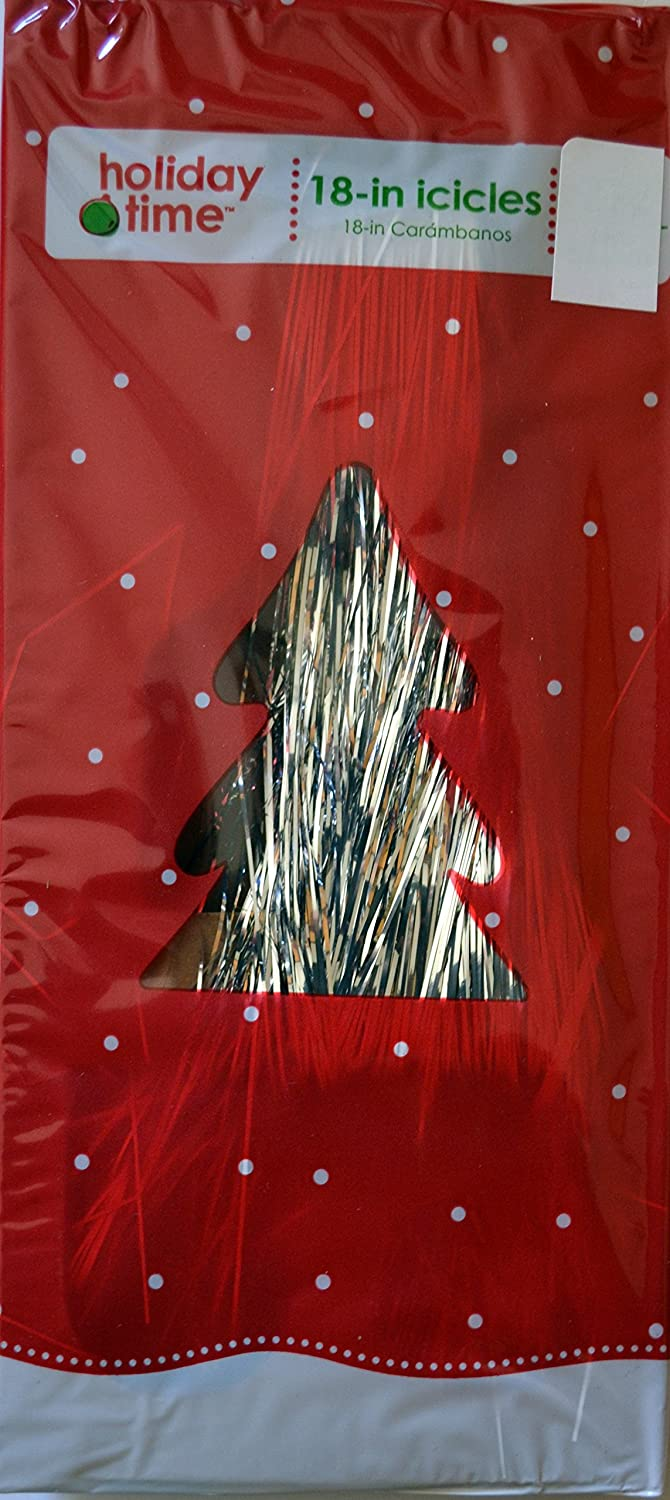 Holiday Time 18in Icicles Tinsel