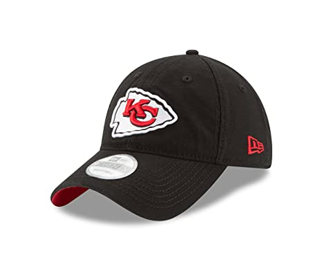 Amazon.com   NFL Kansas City Chiefs Core Shore 9Twenty Adjustable ... df6e4e8519b