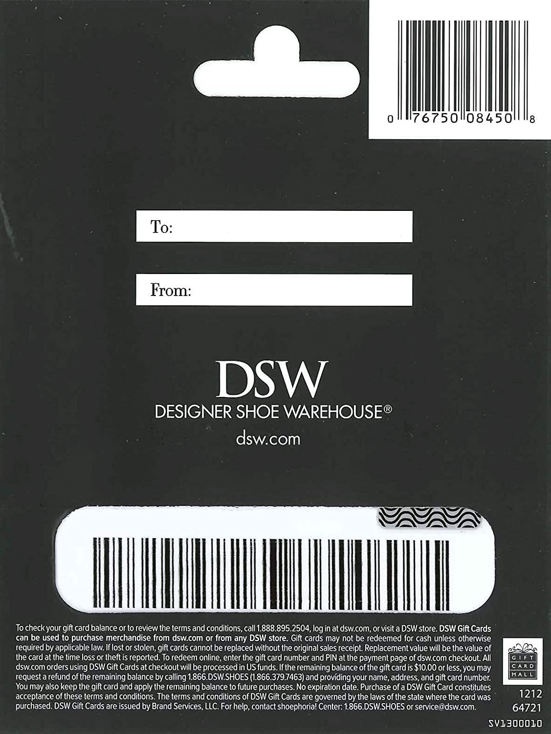 Amazon.com: DSW Gift Card $25: Gift Cards