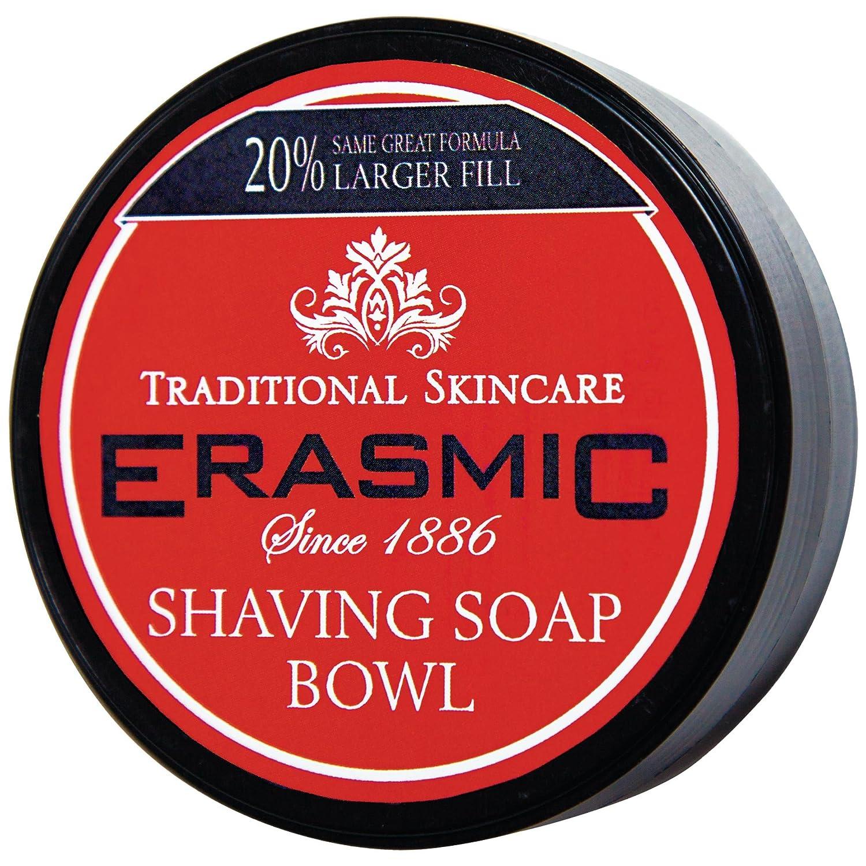 Erasmic Shaving Soap Bowl 90g Amber House Ltd