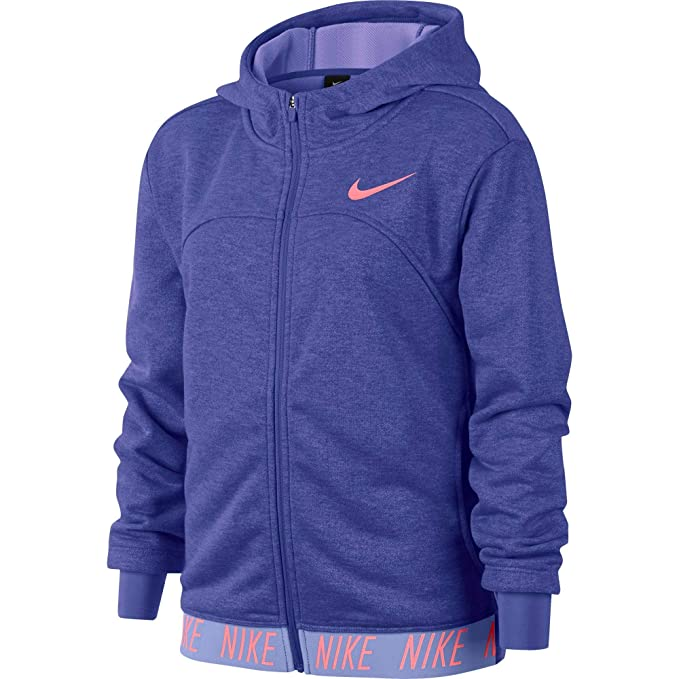 Nike G Nk Dry Hoodie FZ Studio Chaqueta, Niñas