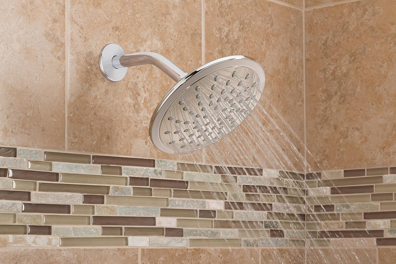 Moen 6345 8 Fixed Rainshower Showerhead, Chrome