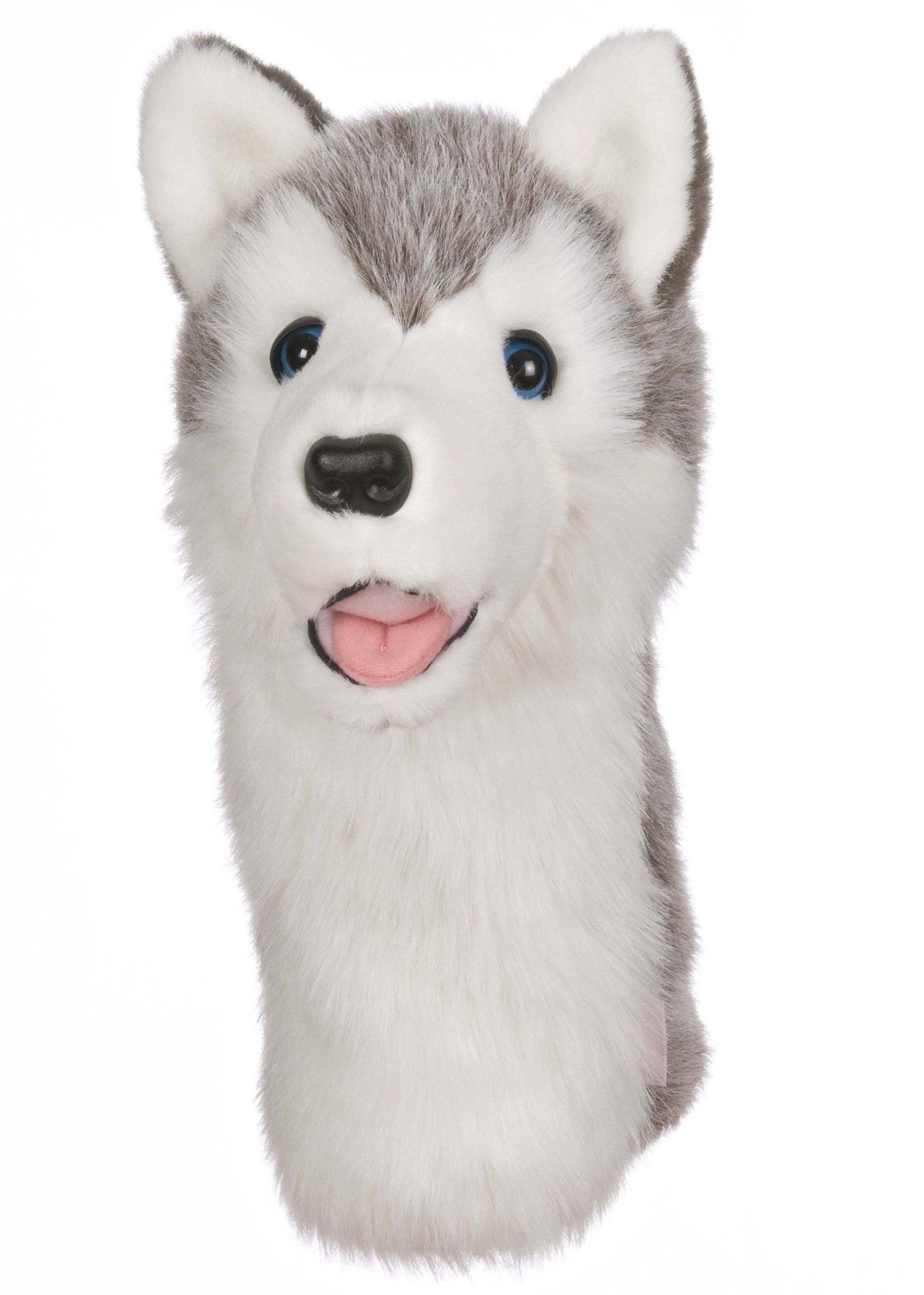 Oversized Wolf Husky Golf Head Cover