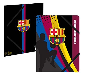 Carpeta plastificada con 3 solapas - Colección oficial FC ...