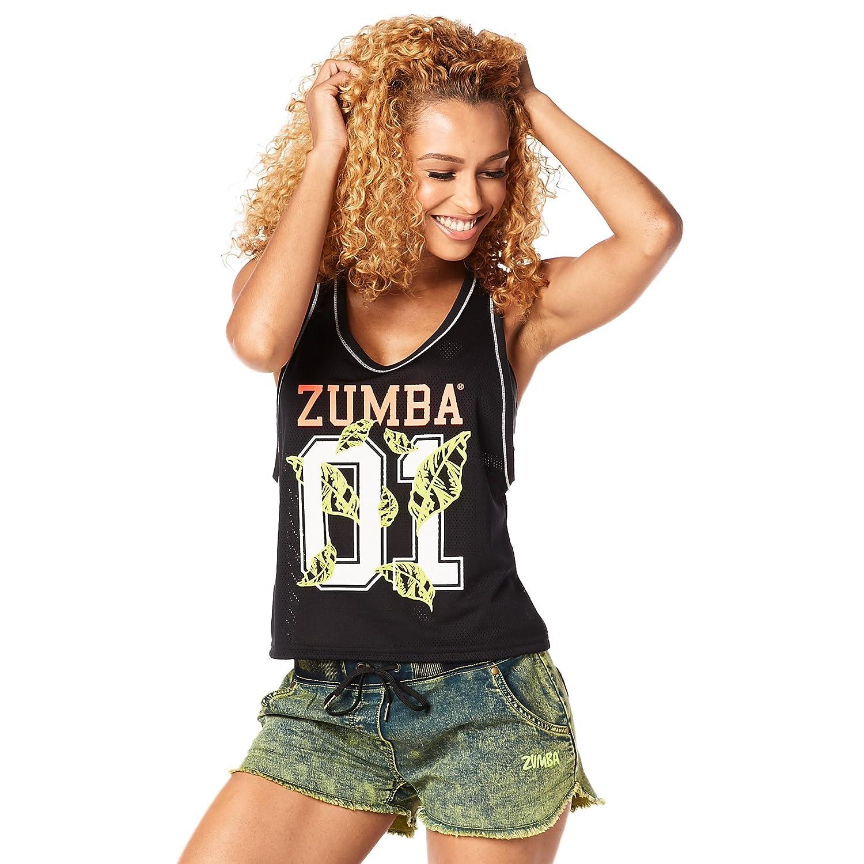 Zumba Fitness Z1t01236 Débardeur Femme  Amazon.fr  Sports et Loisirs 4a25afe1aac