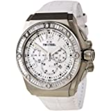 TW Steel CEO Tech Swarovski Crystal Stainless Steel Watch - Mother-of-Pearl Dial