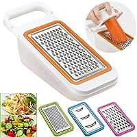 Cooko Vegetable Slicer,Multifunction Grater Set,Mandolin Vegetable Cutter Best for Carrot, Cheese