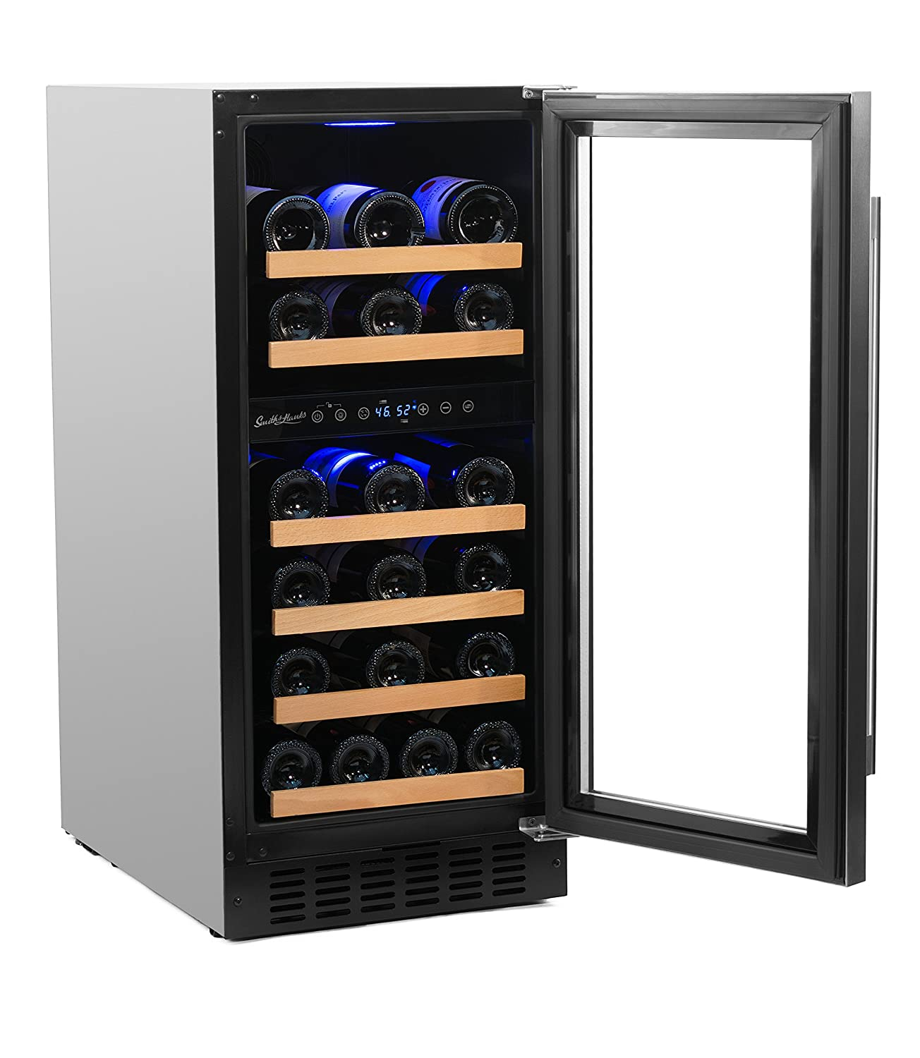 storage cabinets wine refrigerator cooler wood furniture refrigerated cabinet small