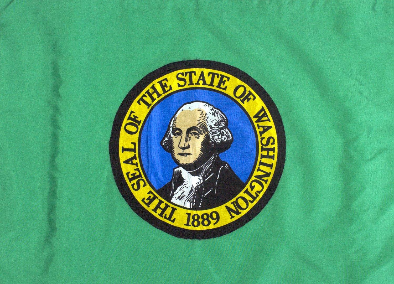 6x10ft Washington Flag - Highest Quality Outdoor Nylon