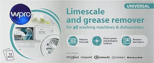 Desincrustante de cal y detergente antibacterias para lavadoras ...