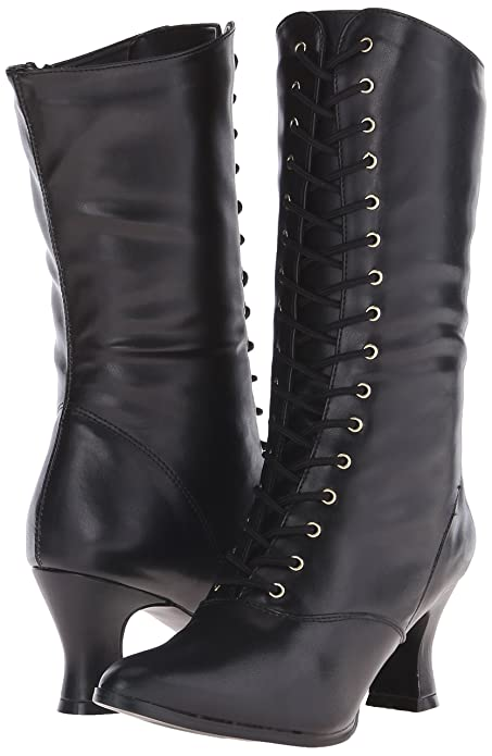 Vintage Boots- Buy Winter Retro Boots Funtasma Womens Vic120/B/Pu Warm Lining Ankle Boots �51.95 AT vintagedancer.com