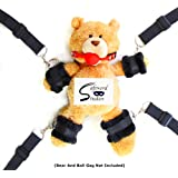 Safeword Studios Extra-Strength Bed Restraints with Thick Plush Cuffs