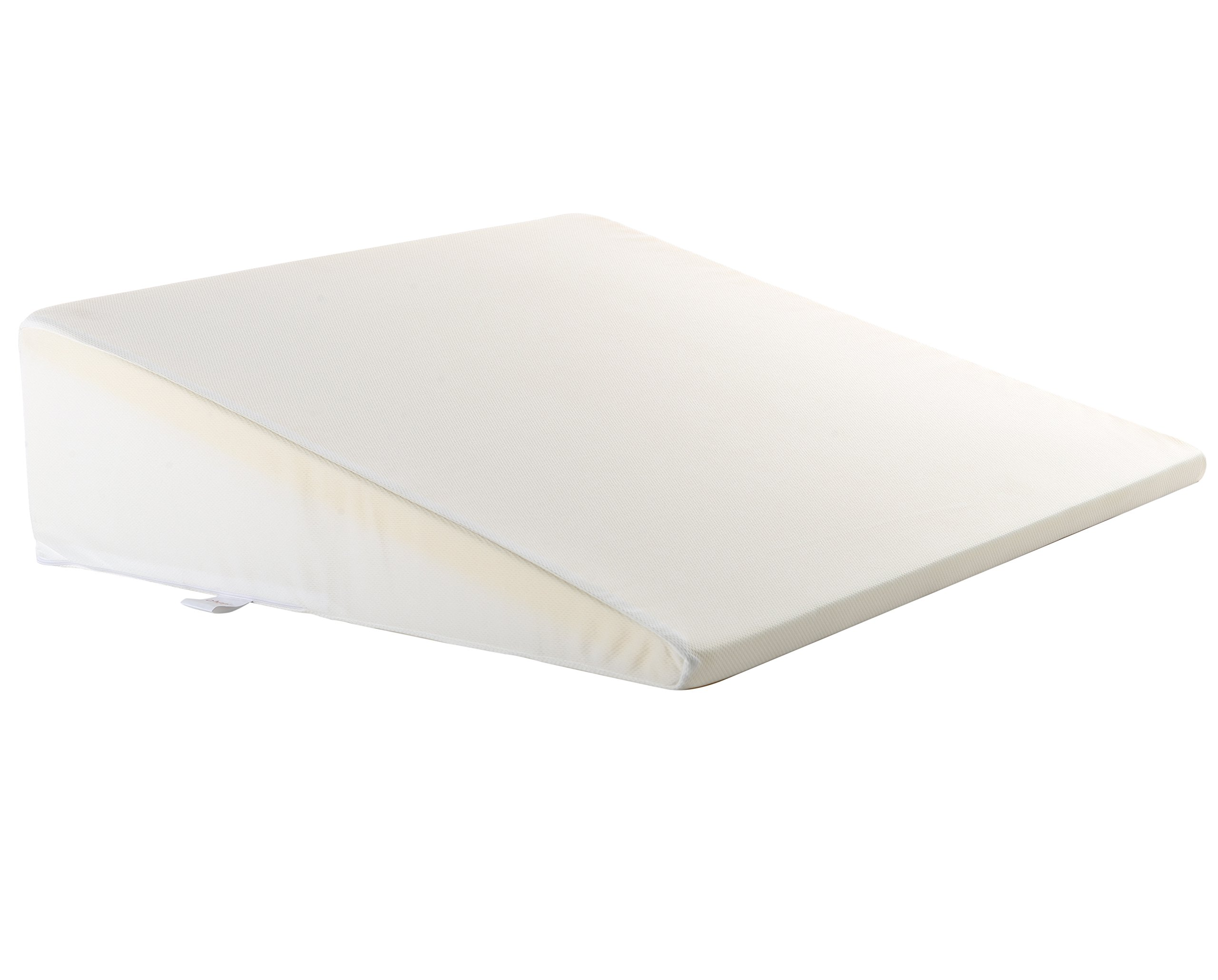 Cheer Collection Memory Foam Wedge Pillow with Washable Cover - for Acid Reflux, Head or Leg Elevation or Reading Support in Bed