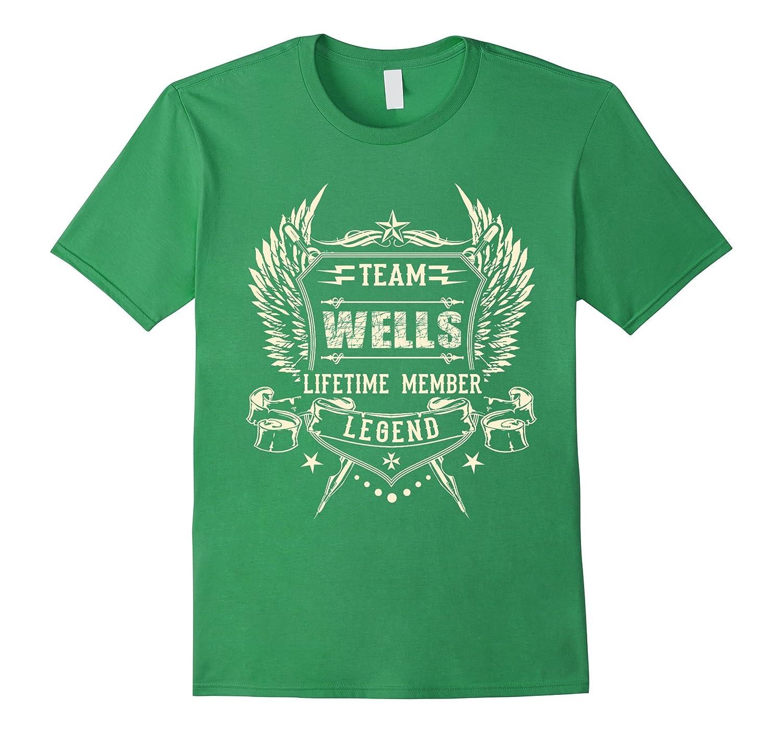 Team WELLS Family T-Shirt, Team WELLS lifetime member shirts-BN