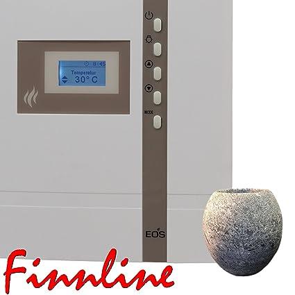 Sauna EOS, control Econ D1 con el fantástico Finn Line EI I de sauna para la ...