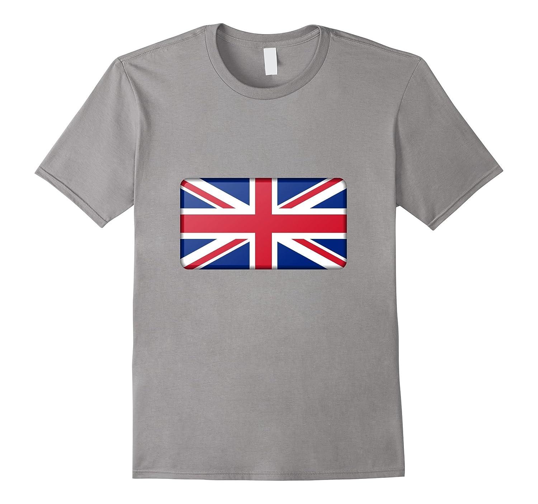 British United Kingdom UK Flag Union Jack t-shirt-CD